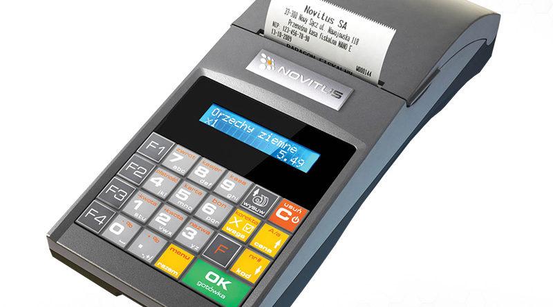 Novitus Nano E - popularna mobilna kasa fiskalna