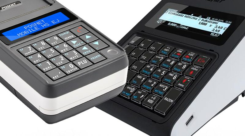 Kasy fiskalne Posnet Mobile HS EJ i Posnet Revo