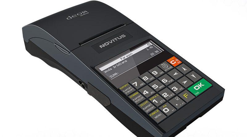 Mobilna drukarka fiskalna Novitus Deon Online