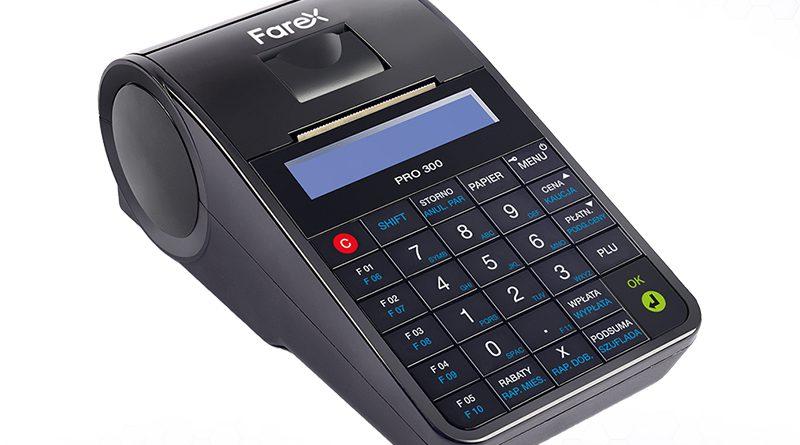 Praktyczna kasa online Farex Pro 300